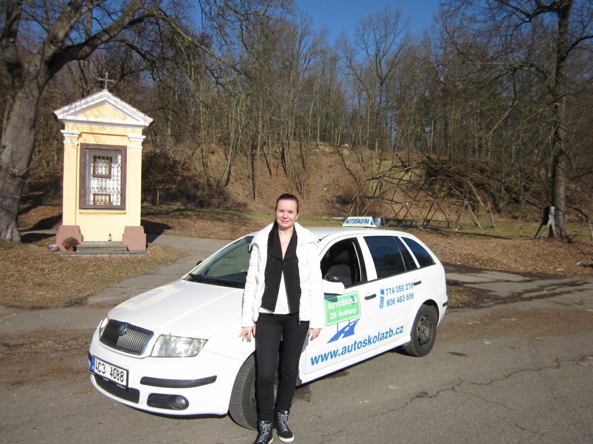 Lektorka výuky a výcviku Zuzana Selnerová