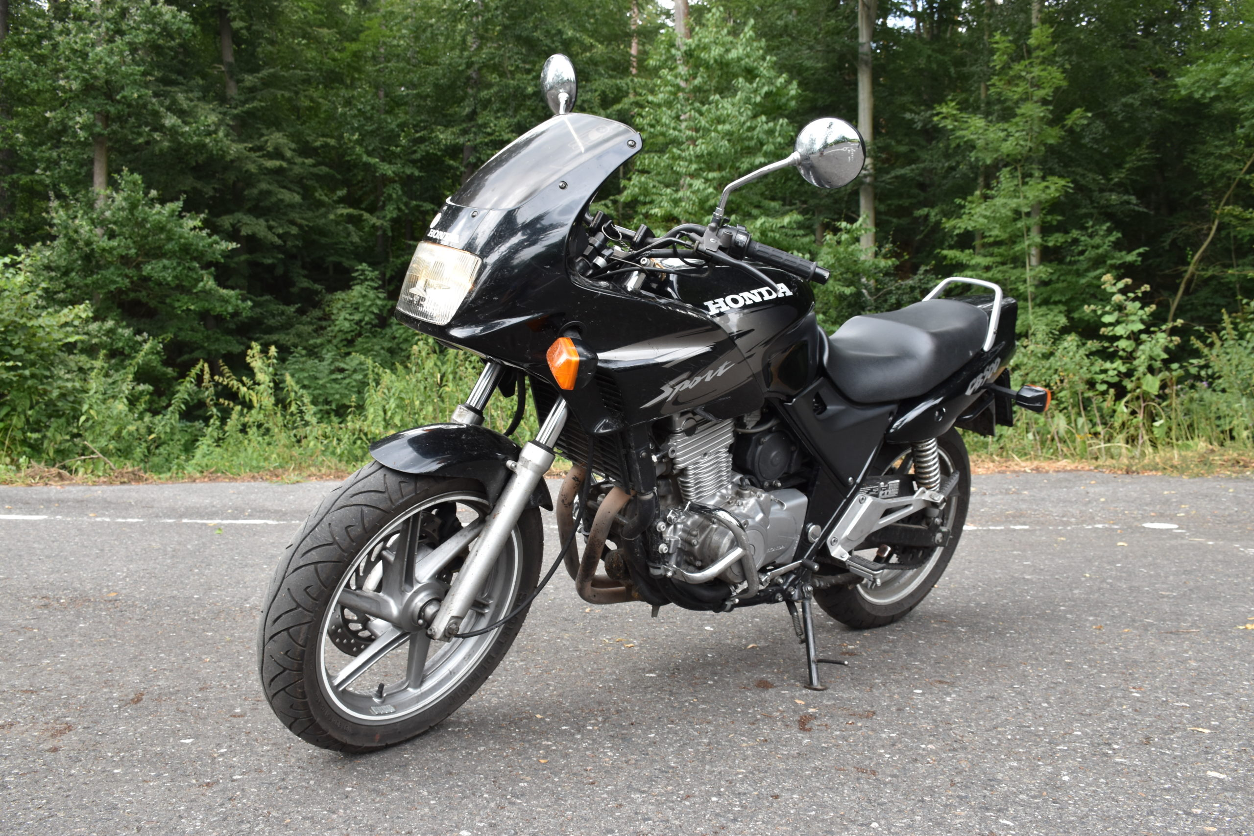 Výukový motocykl Honda