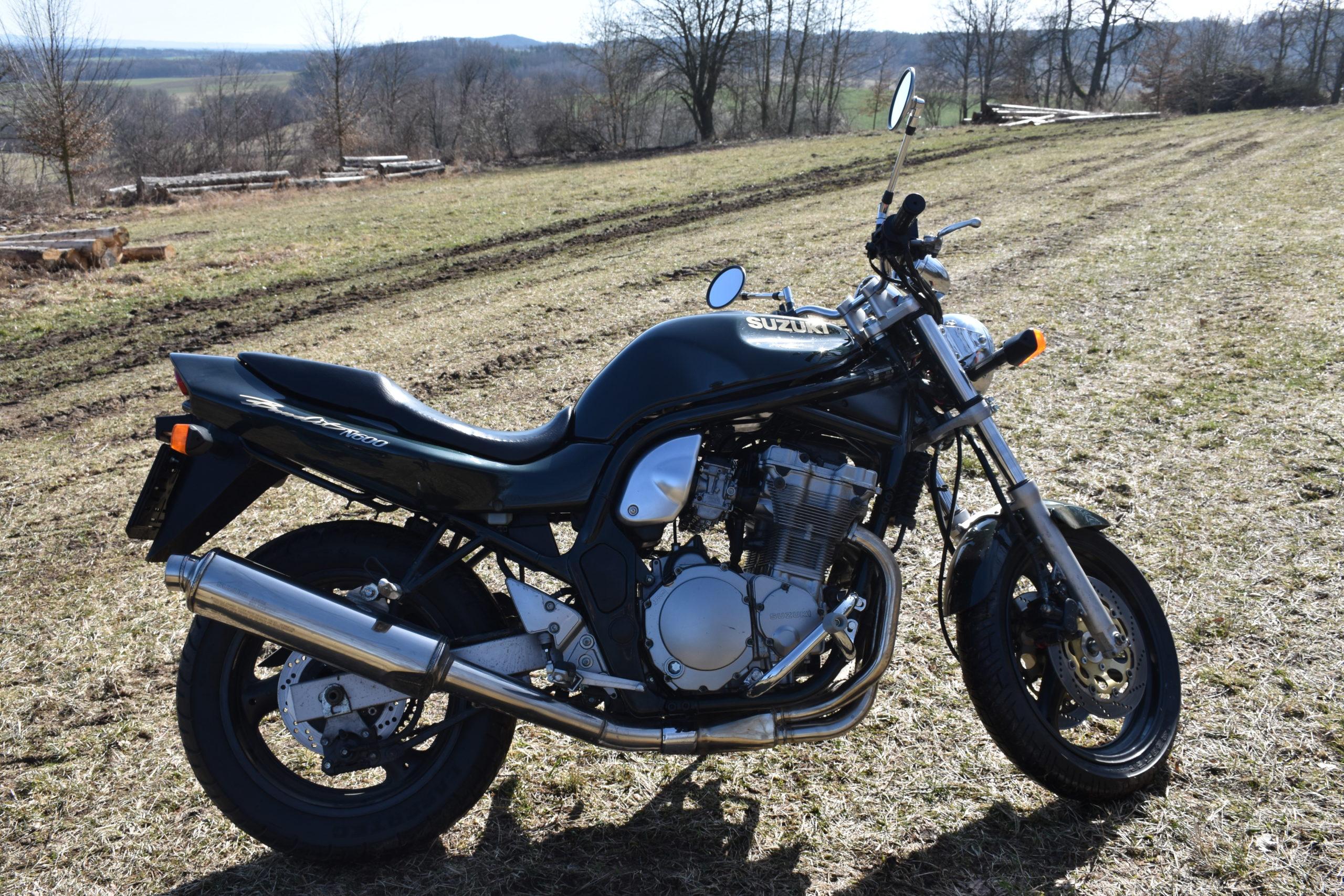 Výukový motocykl Suzuki