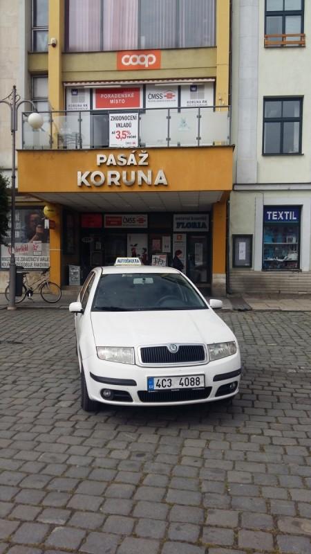 Výcvikové vozidlo Škoda Fabia 1.9 Sdi